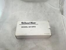 CHANNEL MASTER DUAL LNB AMP 6214IFD New Old Stock