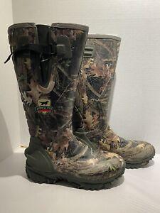 Irish Setter Rutmaster 2.0 Hunting Boots Rubber 4898 Neoprene Men's (SIZE 10)