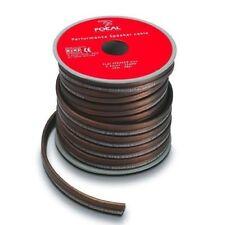 FOCAL PS25 Flat Kabel für Lautsprecher Spule Von 12 Meter > 2,5 MM PVC