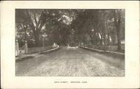 Bedford MA Main St. c1910 Postcard