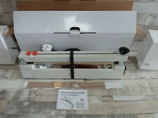 More details for impulse heat sealer 400mm/40cm sealing width with cutter - brand new -table top