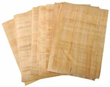 20 Blank Egyptian Papyrus Sheets for Art Projects and Schools 15x2cm UK Shipping