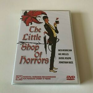 THE LITTLE SHOP OF HORRORS - DVD R4 JACK NICHOLSON - New & Sealed