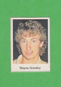 "1985-86 Swedish Buster ""Triss i Ess"" #59 Wayne Gretzky Edmonton Oilers"