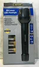Brand New Defiant 850 Lumen LED Flashlight Original Package Batteries Included