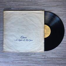 "Queen - A Night At The Opera 12"" Vinyl Album (Uruguay) 1975 - Mega Rare"