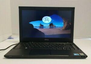 """Dell Latitude 13 13.3"""" HD Core 2Solo U3500 @1.40GHz 4GB 160GB HDD W10P"""