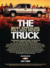 1999 2000 Chevrolet Silverado Truck Advertisement Print Art Car Ad J802