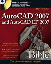 AutoCAD 2007 and AutoCAD LT 2007 Bible by Finkelstein, Ellen, Good Book