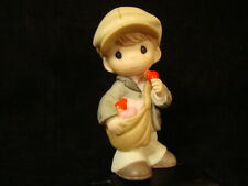 Precious Moments-Paper Boy-I've Got Extra Extra Love For You-With Box