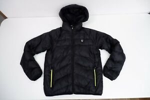 EA7 Emporio Armani Boys Puffer Coat, Size Age 14a Years, Black, VGC