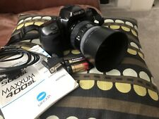 Vintage Minolta Dynax 500si Camera With Instruction Manual