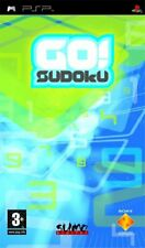 SONY Playstation PSP Game GO! SUDOKU 1000 PUZZLES & EXTRA DOWNLOADS + MANUAL