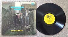 THE VACANTS - WORTHLESS TRASH - U.K. PRESS BEAT LABEL PUNK ROCK LP - KBD