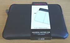 "Rocketfish Universal Real Leather Case  7"" X 5"" 178 mm x 127 mm Kindle, Tablet"