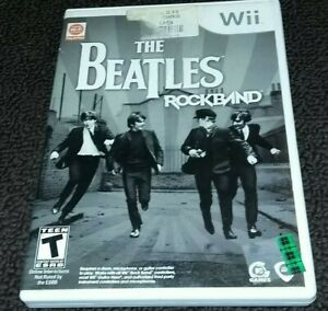 The Beatles: Rock Band Nintendo Wii Game 2007 Cleaned, Tested
