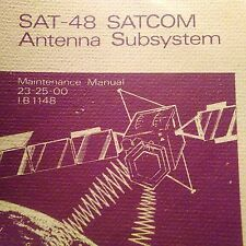 Bendix King SAT-48 SATCOM Antenna Maintenance Manual