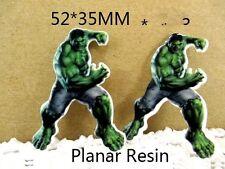 5 X 35mm Corte Láser Hulk Piso Nuevo Resina Adorno Diademas moños de elaboración de tarjetas