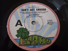 Bad Company Australian Vinyl 45 Can't Get Enough Island Records K-5532