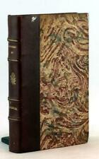 Fine Leather Binding Pensees de B. Pascal French Edition de 1670