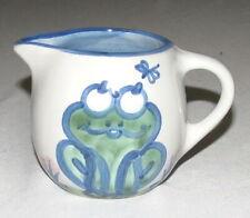 MA Hadley Frog Creamer