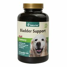 NaturVet Senior Dog Natural BLADDER SUPPORT with Cranberry 60 Tablets