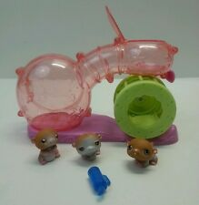 Littlest Pet Shop Happy Hamsters Playset Habitrail Wheel #34 35 36 Figures 2004