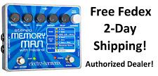 New Electro-Harmonix EHX Stereo Memory Man with Hazarai Delay Looper Pedal