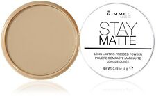 Rimmel Stay Matte Long Lasting Pressed Powder Transparent 001