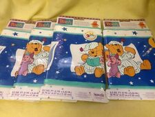 Wall Paper Boarder Pooh Bear 4 Packs Of 5 Yards Each Borden