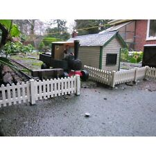 6 Fence Panels with Hinged Gate for Garden Railways. G Scale compatible.