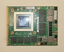 NVIDIA Quadro M3000M 4GB GDDR5 Laptop Graphic Video Card 806269,827226-001,H99YY
