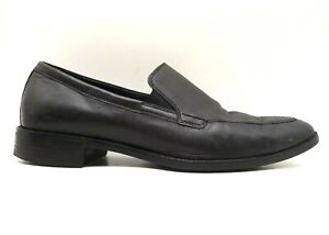 Cole Haan Grand OS Black Leather Dress Casual Slip On Loafers Shoes Men's 11 M