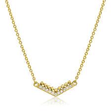 Collier Massiv Gold 585 Gold Kette mit Anhänger Gelbgold 14K Halskette 50 cm