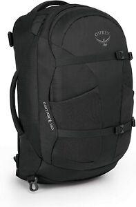 Osprey Farpoint 40 Men's Travel Backpack, Small/Medium - Volcanic Grey