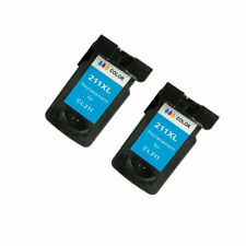 Remanufactured Ink Cartridge for Canon PIXMA MX410 MX420(Pack of 2 Tri-color)