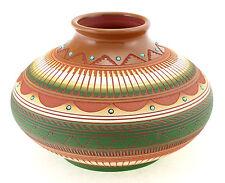 Native American Navajo Vase By Susie Charlie