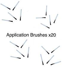 Nylon Applicator Brushes (X20)