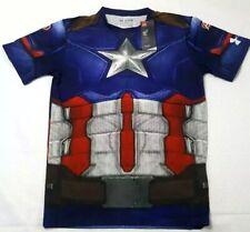 Nwt Xxl Under Armour Alter Ego Captain America Civil War Compression 1273691 410