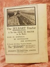 Jelbart Crude Oil Tractor 1920 Advertisement