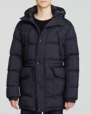 NWT 100 % Authentic Burberry  Bensen  Puffer Coat Size L NAVY Mens Retail $ 995