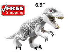 Giant Huge White Dinosaur Figure Building Toy Fit Lego Jurassic ☀️FAST SHIP☀️