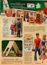 1973 ADVERTISEMENT 5 Pg Barbie Ken United Airplane Boat Camper Tent Stewardess