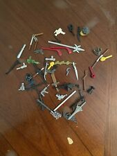 Action Figures Mixed Toy Lot!  Accessories & Weapons!  Must See!!
