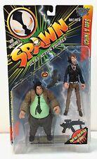 "McFarlane Toys Spawn Figure - SAM & TWITCH - 6"" Deluxe - Series 7 MOC 1996   b"
