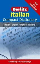 Italian Compact Dictionary : Italian-English by Helen Bonikowski (2012,...