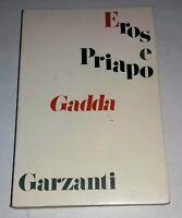 Eros e Priapo: (da furore a cenere) Carlo Emilio Gadda - Garzanti, 1975