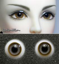 1/3 1/4 bjd 14mm two tone high quality glass doll eyes M-49 dollfie ship US