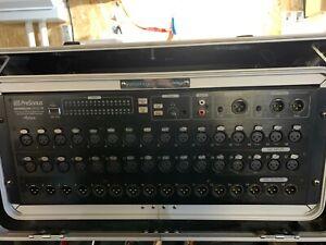 PreSonus StudioLive RM32AI Digital Mixing Desk Rackmount 4u 32 Channel AVB Mixer