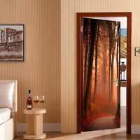 "Door Wall Mural Wall Paper Stickers Vinyl Removable 3D Decals 30.3x78.7"" #3"